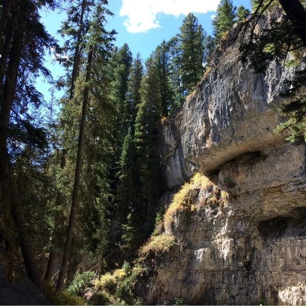 Pebble Creek Cliff