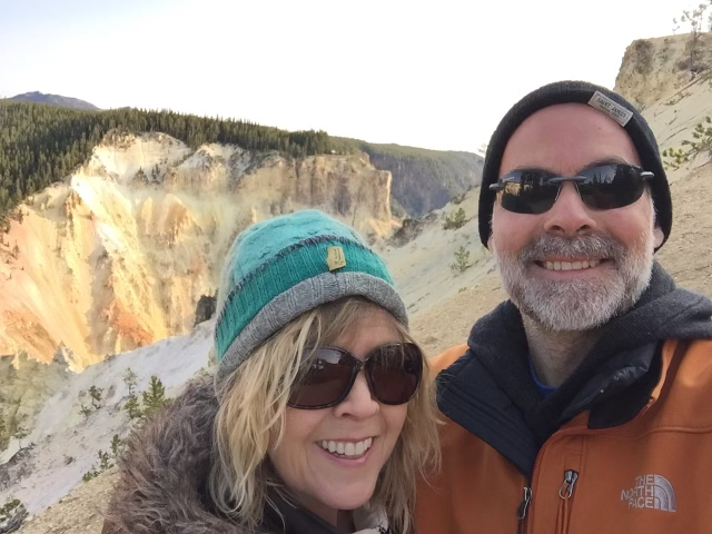 Your Yellowstone Guide at the Grand Canyon of the Yellowstone